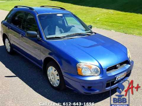 2004 subaru impreza wagon 2 5 ts sport auto with 173k. Black Bedroom Furniture Sets. Home Design Ideas