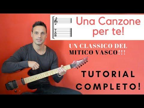 Tutorial Una canzone per te - Vasco Rossi / TAB completa!