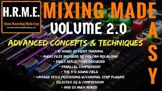 MIXING MADE EASY VOL 2.0  - Now Available - Presonus Studio One 3