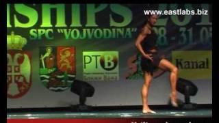 Дворцова Татьяна фитнес ЧЕ2010