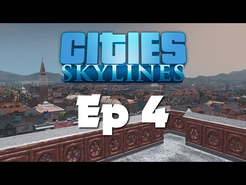 Cities Skylines - Gabsteria City - Ep 4 - Royal Palace!