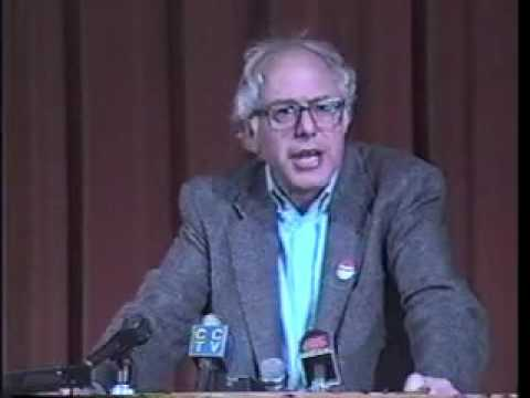 Bernie Sanders Wins Vermont's Only Seat in Congress: Post-Election Speech (1990)