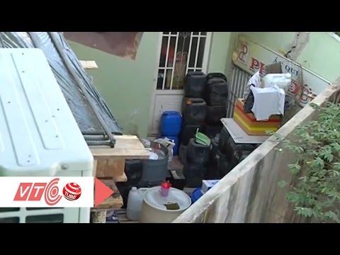 Phát hoảng với… kho axit giữa khu dân cư | Tiêu điểm 17/1/2016