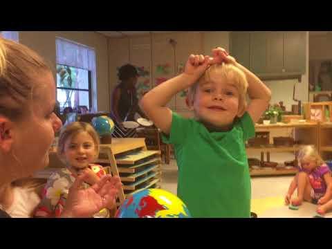 Brady's bday at Palm Harbor Montessori