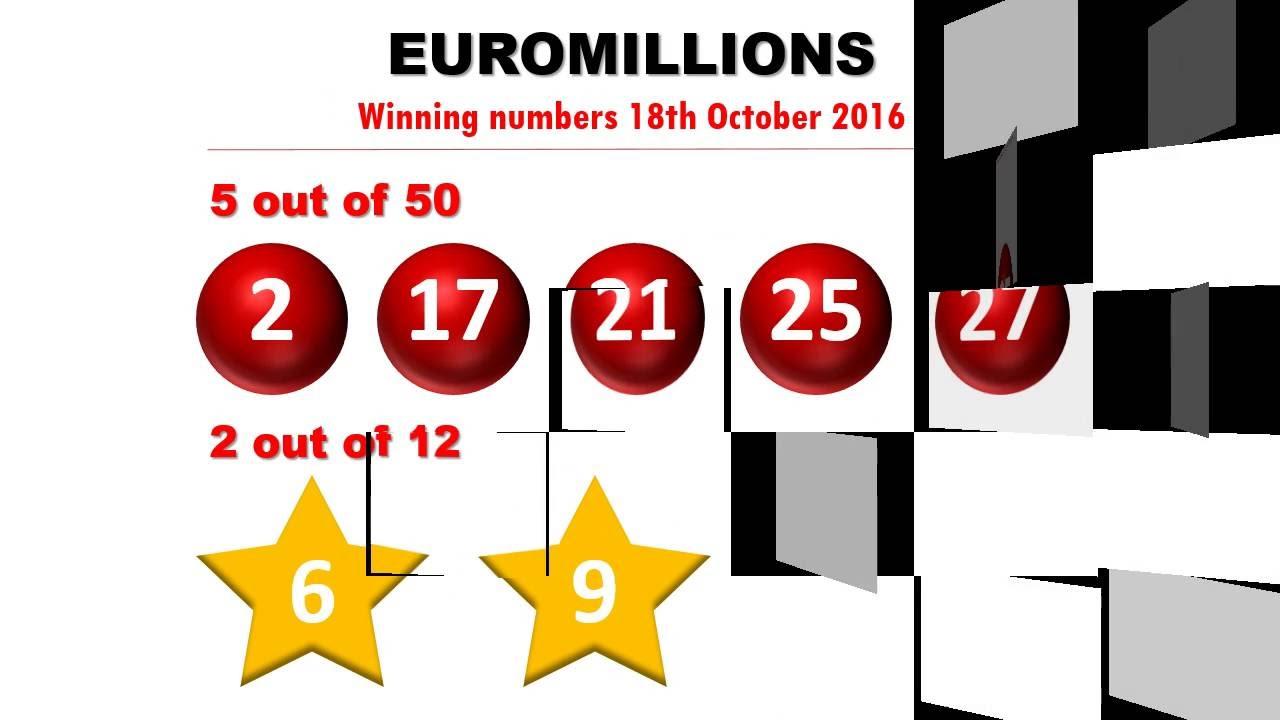 Euromillions Ziehung Dienstag