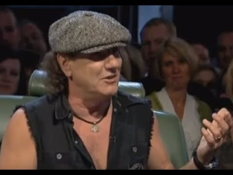 ACDC vocalist Brian Johnson releases statement on Malcolm Young's passing ...