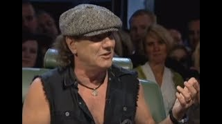AC/DC vocalist Brian Johnson releases statement on Malcolm Young's passing ...