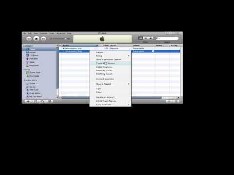 How to Make iPhone Ringtones for Free Using iTunes (PC Version)