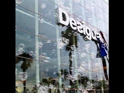 Inauguraci n oficinas desigual con burbujas hd youtube for Desigual oficinas barcelona