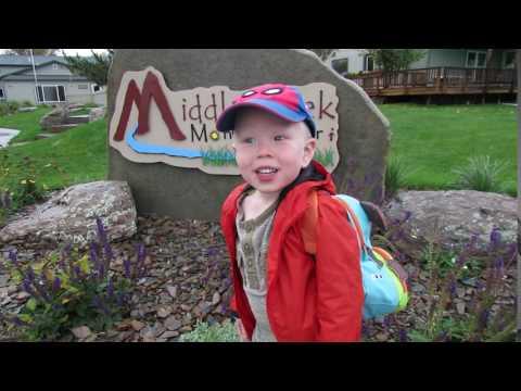 Brett's First Day Middle Creek Montessori