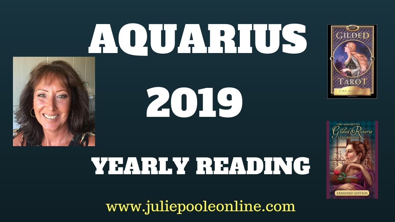 Aquarius Weekly Horoscope 17 - 23 December 2018