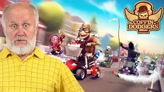 Coffin Dodgers Gameplay First Look Part 1 | OLD PEOPLE + MARIO KART