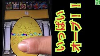【モンスト】レアガチャ★最強のモンスターGET☆金の卵を叩き割れ!!卵タップしまくったらオーブがいっぱい!【mucciTV】