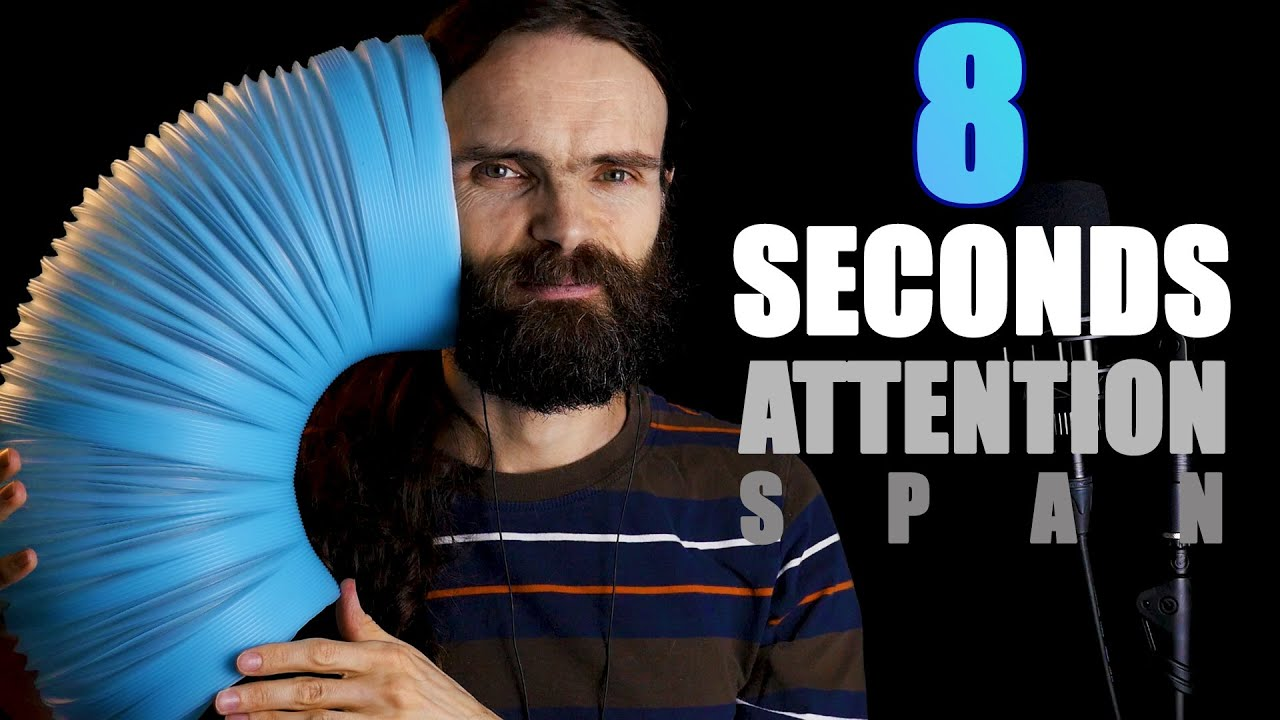 ASMR for people with SHORT ATTENTION SPAN (8 seconds)
