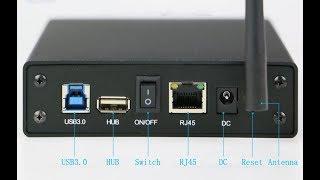 KIMAX сетевой диск хранилище NAS, WIFI роутер, USB 3.0 карман для 3.5' HDD. Обзор, настройка.