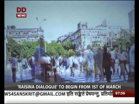 India to organize 'Raisina Dialogue' from 1st March