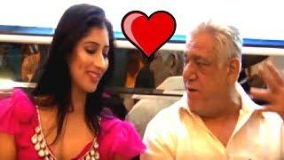 Sexy Lady Vs Old Man | Warrior Savitri Movie (2016) | Music Launch | Om Puri & Niharica Raizada