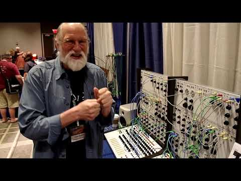 Buchla 100 Series Modular Synthesizer Sneak Preview