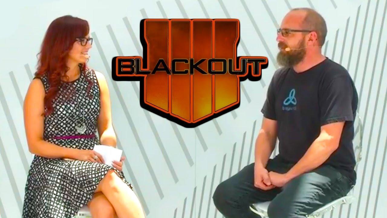 Treyarch LIVE! E3 (TALKS ABOUT BLACKOUT!) Interview with David Vonderharr