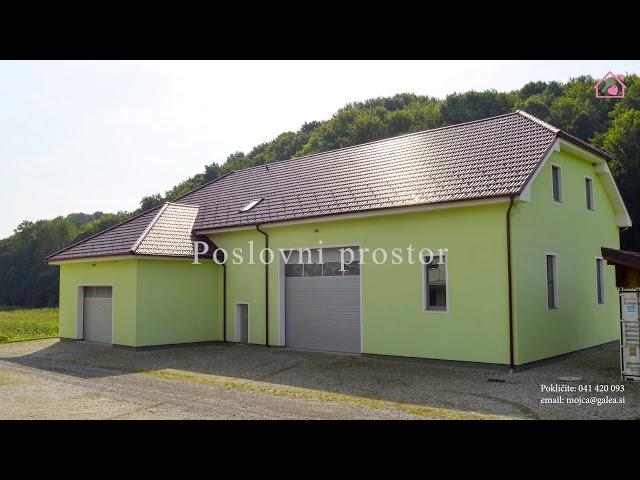 Prodajamo zemljišče z dvema samostojnima hišama in poslovnim prostorom