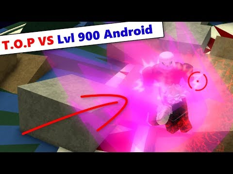Lvl 900 Android Solo T.O.P | DBZ Final Stand