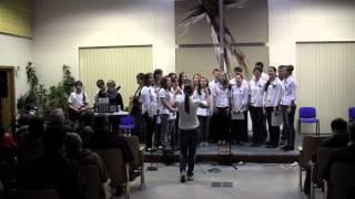 Schola BiGy Brno - Noc kostelů 2013 (část 1.)