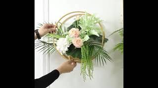 북유럽 금속 인테리어 꽃 선반 카페 꽃집