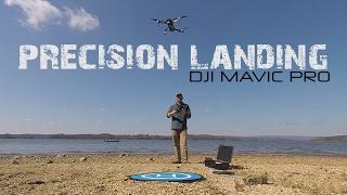 DJI MAVIC PRO - LANDING PAD - TESTING OUT THE DOWNWARD OPTICAL SENSORS!