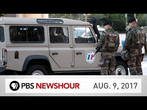 PBS NewsHour full episode August 9, 2017