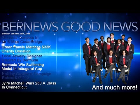 "Bernews ""Good News"" Sunday Spotlight, January 28, 2018"