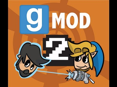 Butch & Quinn play G-mod: Episode 2- Butch cannot freeze objects
