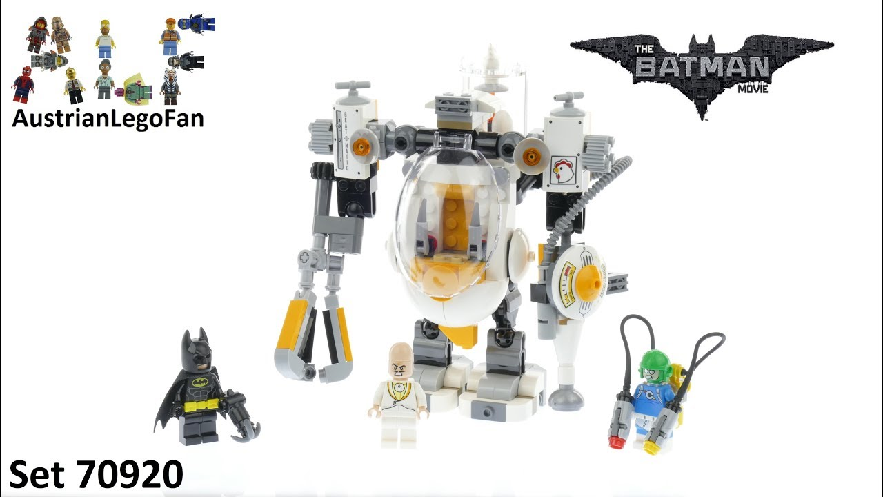 Download Lego Batman Movie 70920 Egghead Mech Food Fight - Lego Speed Build Review