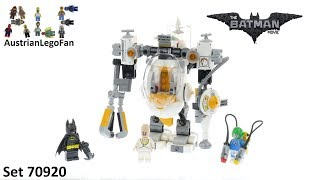 Lego Batman Movie 70920 Egghead Mech Food Fight - Lego Speed Build Review