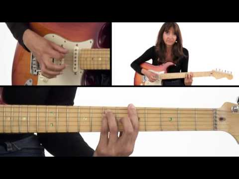 How to Play a Song with Power Chords - Beginner Guitar Lesson - Susan Mazer
