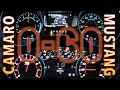 2016 Chevrolet Camaro Turbo 2.0L 0-60 MPH vs Ford Mustang EcoBoost 2.3L