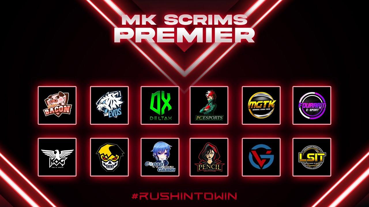 Free Fire : MK PREMEIR SCRIMS DAY5 WEEK2 ห้องซ้อม No.1 ประเทศไทย