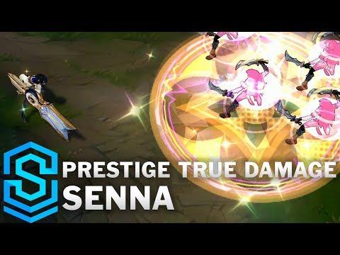 Prestige True Damage Senna Skin Spotlight - League of Legends