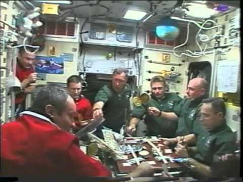 Space Shuttle Flight 107 (STS-108) Post Flight Presentation