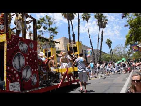 Santa Barbara Summer Solstice Parade 2017 (1 of 4)