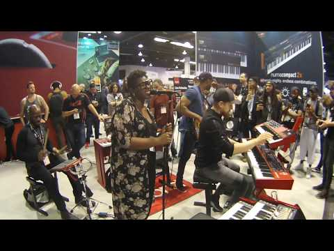 "NAMM 2018 - The Kennedy Administration plays ""Human Nature"" at Nord"