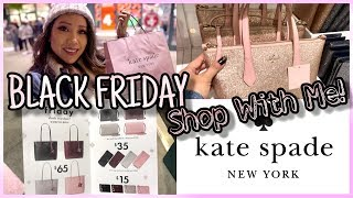 BLACK FRIDAY SHOPPING! SHOP WITH ME KATE SPADE OUTLET & HAUL! SHOP WITH ME KATE SPADE CAMARILLO