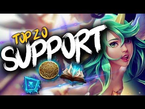 Top 20 SUPPORT Plays #18   League of Legends thumbnail