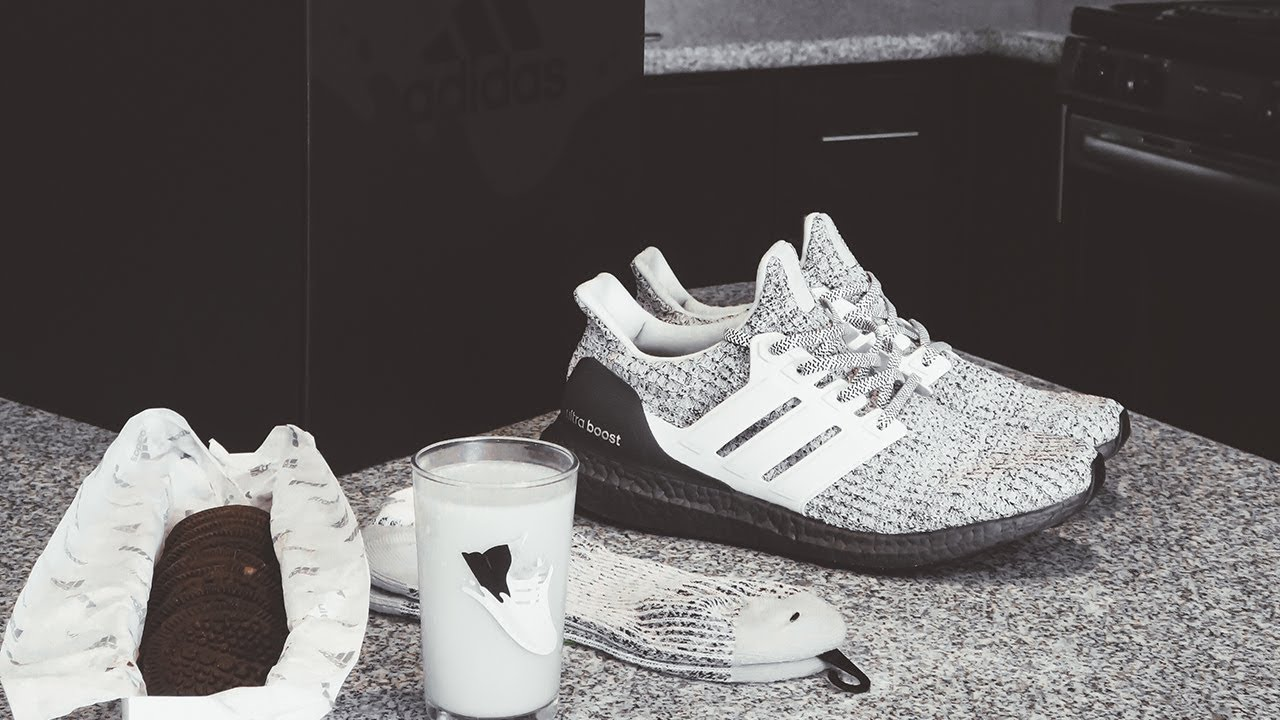 ec77abe40e19c UNBOXING  1 50 ADIDAS ULTRABOOST COOKIES   CREAM PACKAGE FOR   NATIONALOREODAY