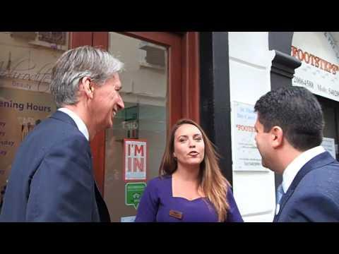 Foreign Secretary Philip Hammond visits Gibraltar