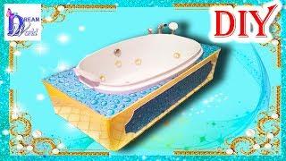 Как сделать ванну-джакузи своими руками для кукол. DIY. How to make a Bathtub-Jacuzzi for Dolls.(По вашим многочисленным просьбам в этом видео я покажу как легко сделать своими руками ванну, но не просто..., 2015-05-09T20:29:06.000Z)