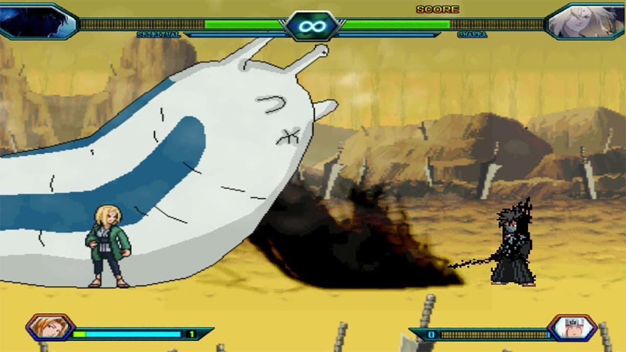 Ichigo Final Getsuga Vs Tsunade Bleach Vs Naruto 3 3 Modded Youtube