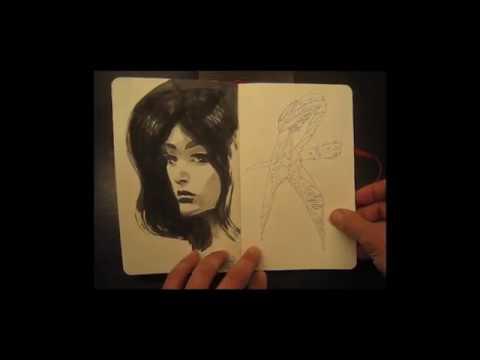 Dante Spada • Moleskine rossa • Musica di Ryuichi Sakamoto.