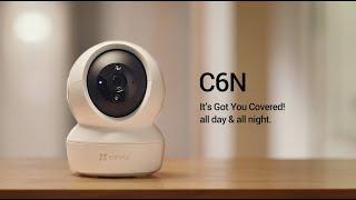 EZVIZ 2MP H.265 NEW Version C6N Wireless Full 360⁰ Pan Tilt Indoor Home Camera video