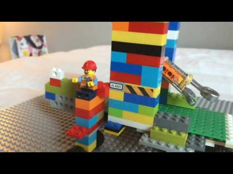 How to build a trebuchet with Lego