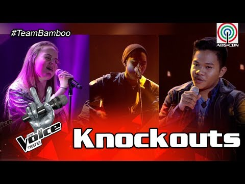 The Voice Teens Philippines Knockout Round: Heather vs Emarjhun vs Carlos